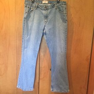 Sz 18 Levi's stretch Bootcut mid rise jeans
